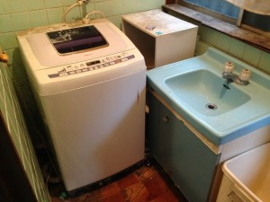 洗濯機の引き取り前