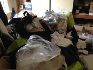 団地の大量ゴミ掃除片付け前3