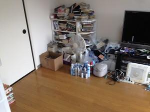 団地の大量ゴミ掃除片付け後1