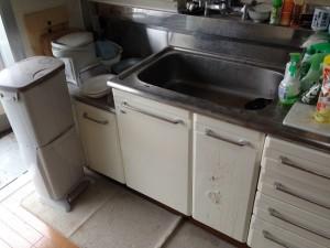 台所の大量ゴミ片付け後3
