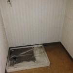 アパート片付け後浴室:すっきりかたづけます。