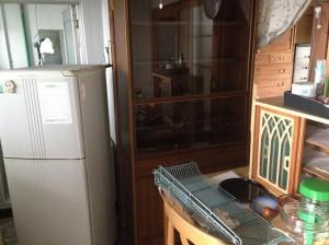 冷蔵庫、食器棚、テーブルなど大きい不用品もかたづけます。