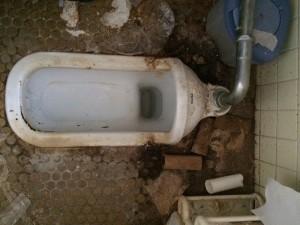 トイレのハウスクリーニング前3