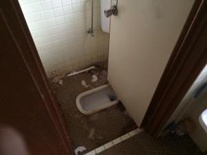 トイレのハウスクリーニング前2