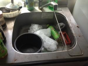 キッチン掃除前3