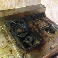 キッチン清掃前3