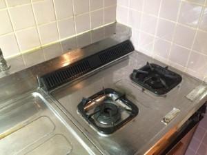 キッチン清掃後3