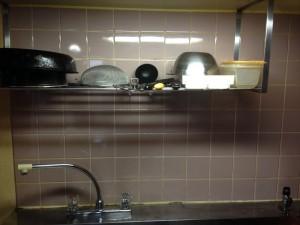 キッチン清掃後1