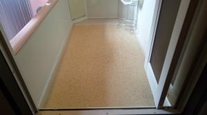 浴室清掃後(床、排水溝)